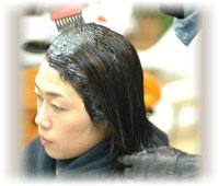 天然素材の染料のハーブカラー